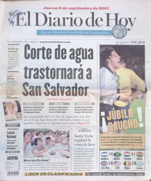 Elsalvadornews